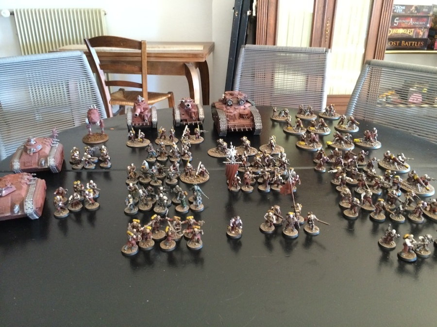 Blood's pact full army 2500ish pts
