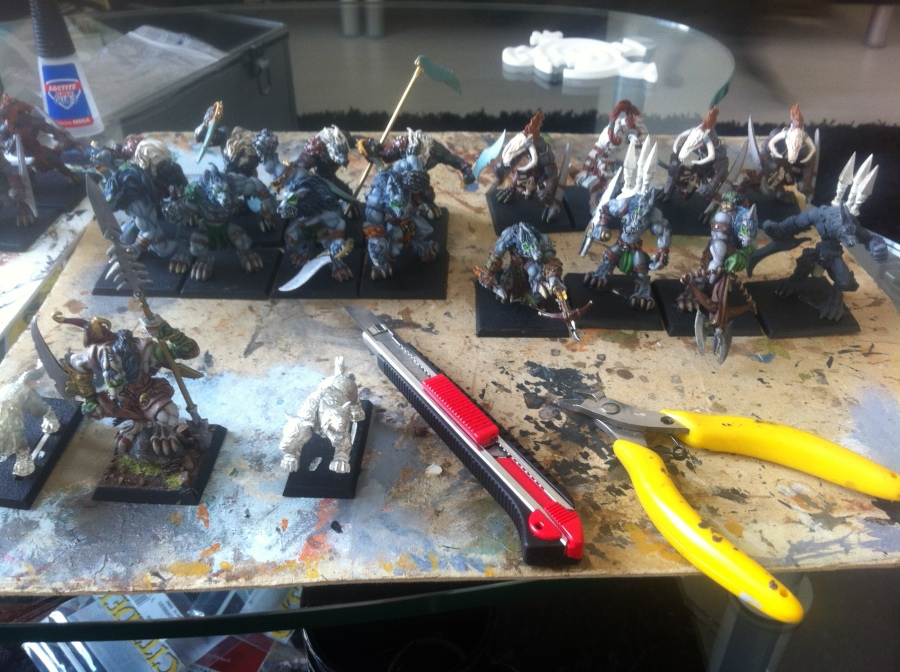 Converting some wolfen