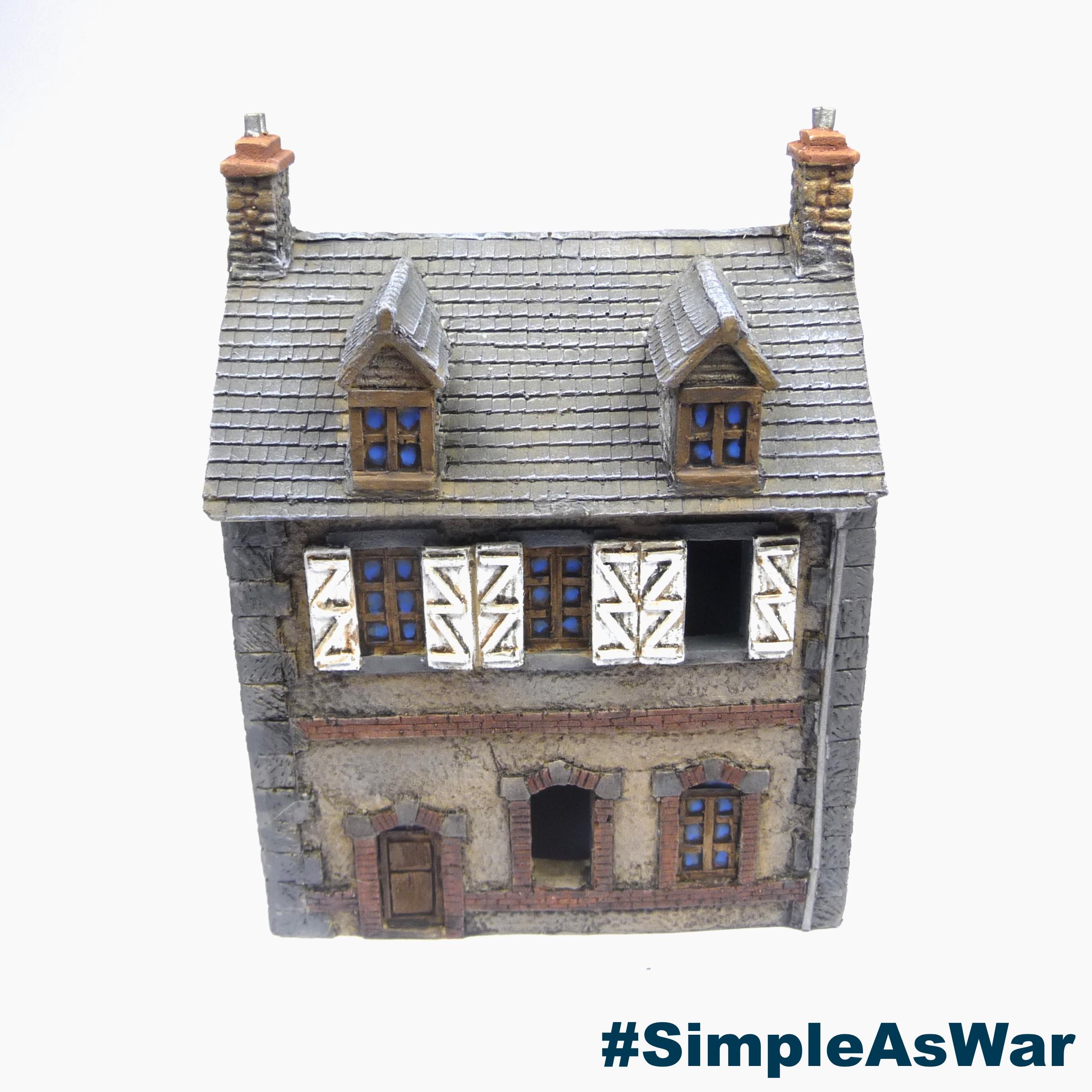 Review: Neveu Loic Normandy buildings – Simple as War