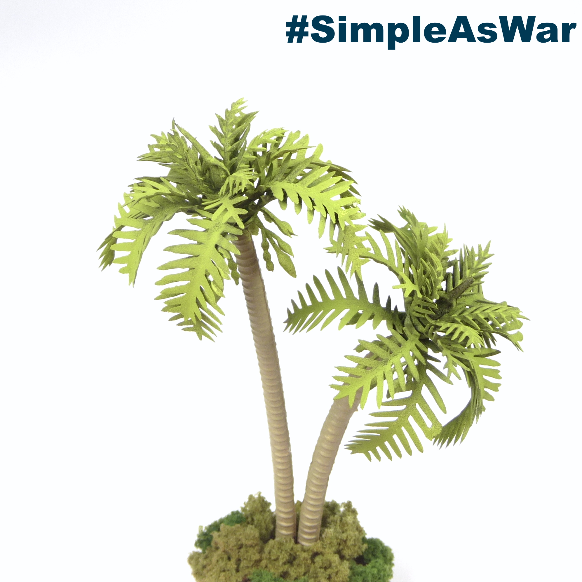 Plastic Palm Trees 2 Simple As War