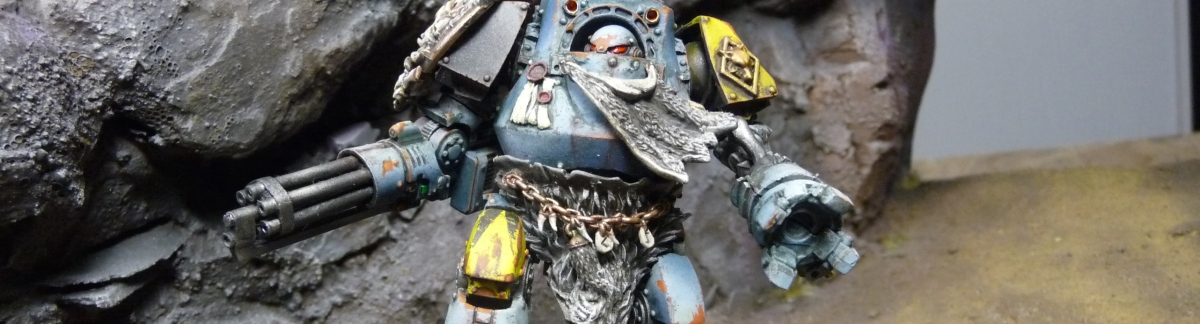 Gallery - Space Wolves Contemptor