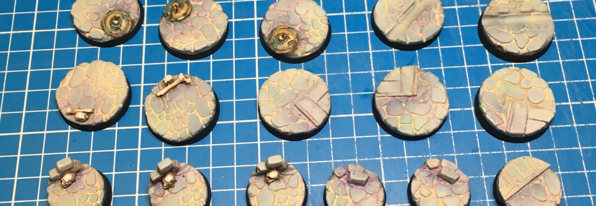 Painting my own Malval bases