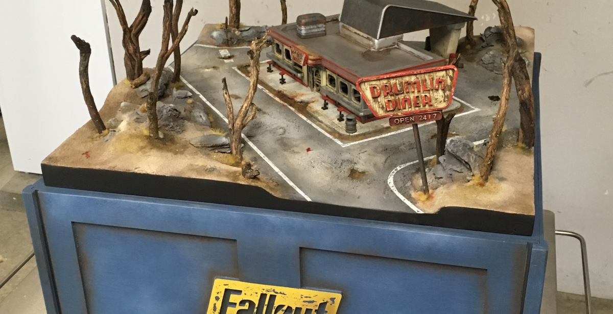 Fallout board - Ready to play!