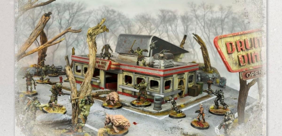 Fallout Wasteland Warfare rules book