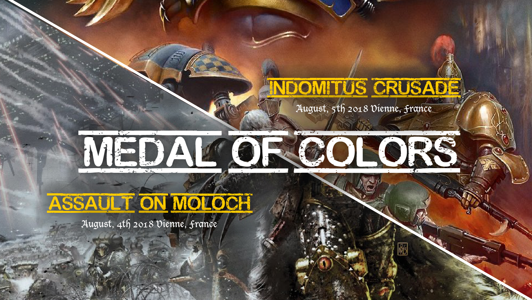 Medal of Colors – Molech's Fortress – Simple as War