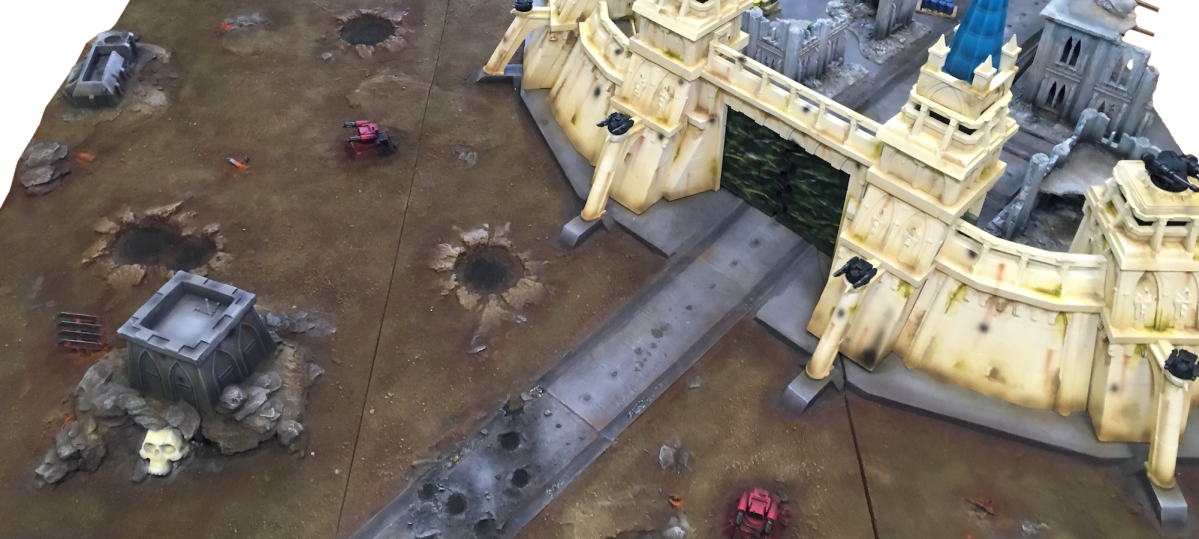 Gallery - Imperial Fortress board